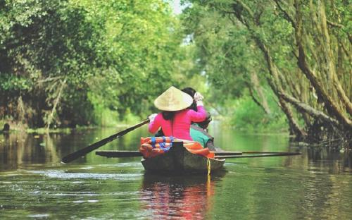 """Khu du lịch sinh thái Gáo Giồng """"ốc đảo xanh"""" của Đồng Tháp"""