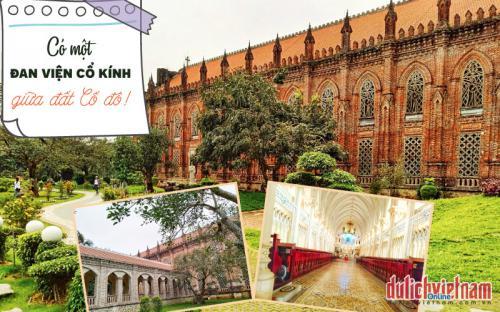 Có một đan viện cổ tuyệt đẹp giữa miền đất Cố đô Ninh Bình