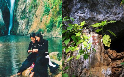 Trốn nắng nóng Thủ đô về Thái Nguyên hóng gió mát tại thác Khuôn Tát