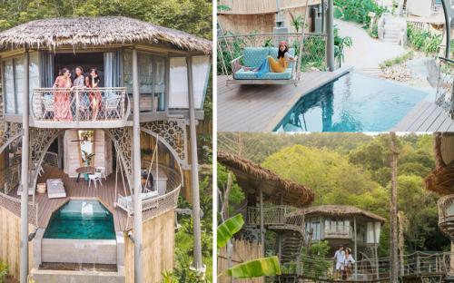 """Bắt trend """"lẹ"""" resort 5 sao trên cây đang làm mưa làm gió ở Thái Lan"""