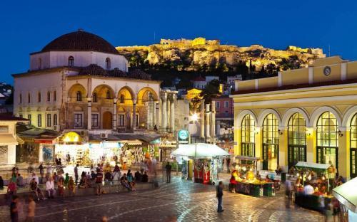 Tháng 6 đến khám phá vùng đất thần thoại Athens