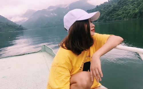 Thả mình trong không gian tĩnh lặng ở hồ Khởn Tuyên Quang