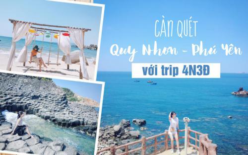 Càn quét Quy Nhơn – Phú Yên với trip 4N3Đ đầy trọn vẹn