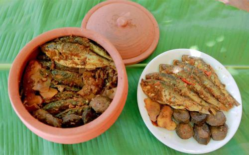 Về Hải Phòng ăn cá mòi kho