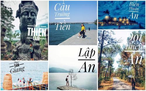 """12 địa điểm check-in chill phết ở Huế được """"thổ địa"""" Thảo Chul bật mí"""