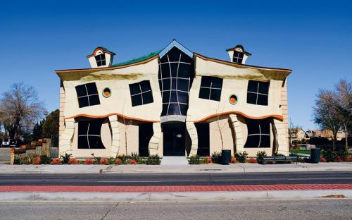 Những ngôi nhà kì lạ tại California