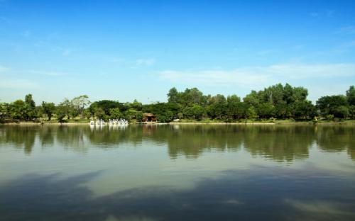 Đắm mình trong không gian xanh của Khu du lịch sinh thái Vườn Xoài