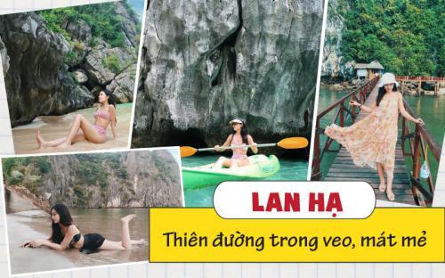 Vui quên lối về với trip trải nghiệm 3N2Đ trên Vịnh Lan Hạ