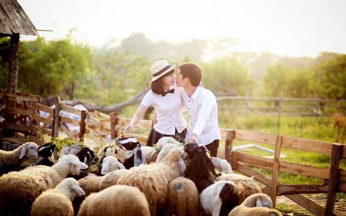 """5 địa điểm chụp hình cưới """"đốn tim"""" các cặp đôi ở Thủ Đô"""