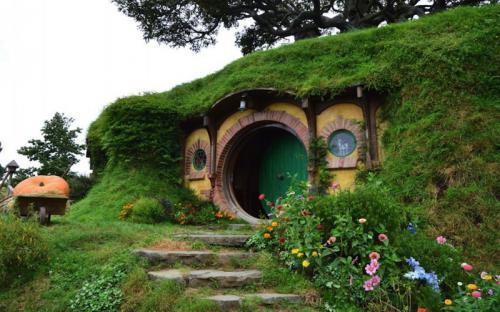 Ngôi làng người lùn như trong cổ tích tại New Zealand