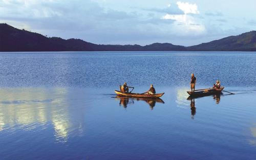 Một ngày ở hồ Đa Tôn
