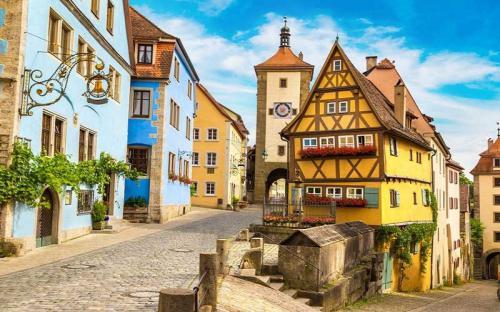 Lạc bước vào những thị trấn cổ đẹp như tranh ở Đức
