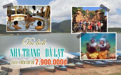 Du lịch Nha Trang - Đà Lạt 5 ngày 4 đêm chỉ với 7.900.000 đồng