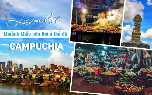 Lượm lặt khoảnh khắc nên thơ ở thủ đô Campuchia