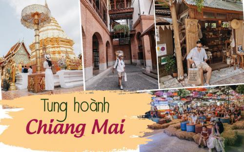 5N4Đ tung hoành khắp Chiang Mai chỉ với 6 triệu đồng (p1)