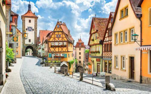 Ghé thăm những ngôi làng đẹp lung linh như cổ tích ở nước Đức