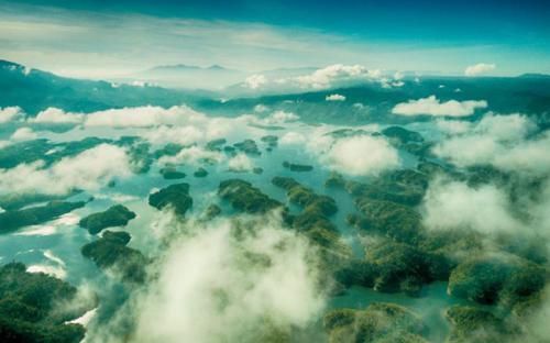 Say đắm trước cảnh đẹp của Vịnh Hạ Long trên cạn