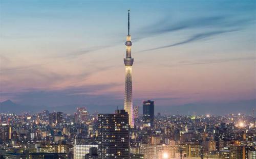 Vì sao Tokyo Skytree xứng đáng là biểu tượng mới của đất nước Nhật Bản?