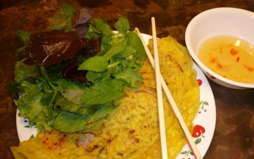 Bánh khoái tép - món đặc sản của vùng đất xứ Thanh