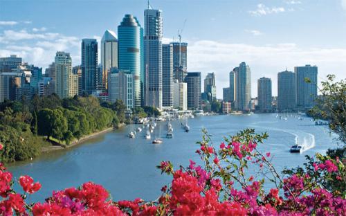 Vẻ đẹp khó cưỡng của Brisbane