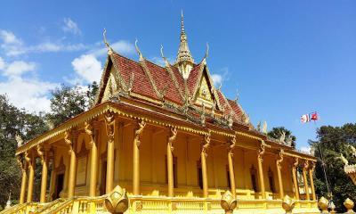 Độc đáo ngôi chùa Bốn Mặt ở Sóc Trăng