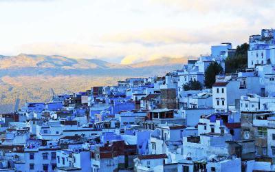"""Lạc vào mê cung Chefchaouen đầy màu sắc của xứ """"nghìn lẻ một đêm"""" Morocco"""