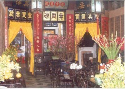 Nhà cổ Diệp Đồng Nguyên - Bảo tàng cổ vật muôn giá