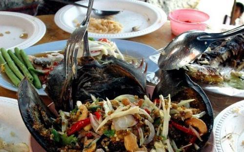 Sam biển Gò Công - món ngon của tỉnh Tiền Giang