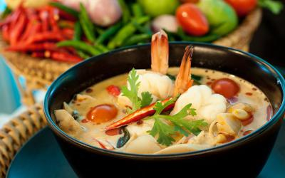 Đến xứ chùa vàng Thái Lan thưởng thức nền ẩm thực vị quen mà lạ