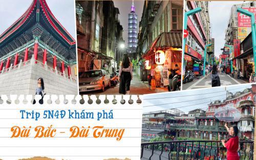 Du lịch Đài Loan tự túc – khám phá nét cổ kính giữa dòng chảy hiện đại (P1)