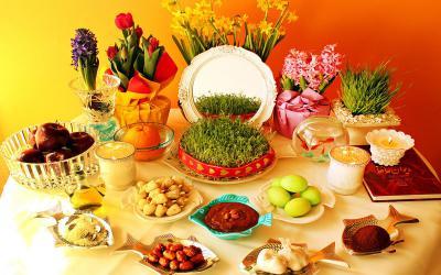 Bàn tiệc ngập tràn ý xuân Ba Tư của người Iran
