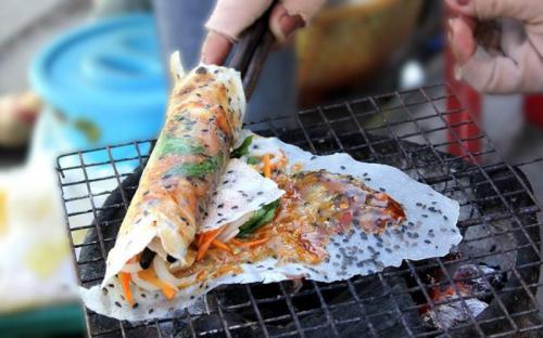 Bánh tráng mắm ruốc mỡ hành Phan Rang - vị ngon khó cưỡng
