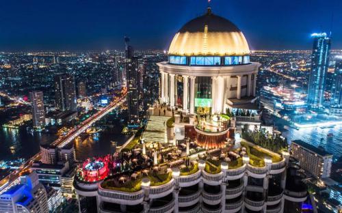 Điểm danh những quán bar rooftop đẹp - sang chảnh tại Bangkok
