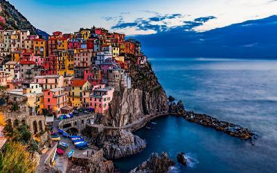 Bờ biển đẹp như mơ tại Ý - nhìn là muốn đến ngay