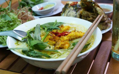 Về Châu Đốc - An Giang thưởng thức món bún cá trứ danh