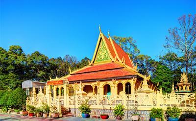 Chùa Âng - Ngôi chùa Khmer cổ nhất Trà Vinh
