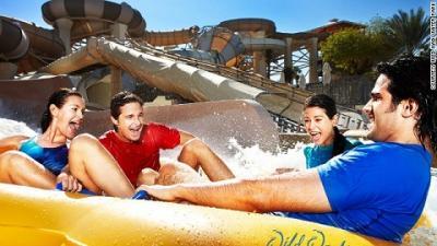 Hấp dẫn công viên nước Wild Wadi ở Dubai