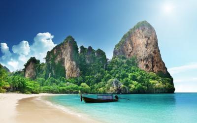 Vẻ đẹp cảnh quan kì thú của đảo James Bon Phuket