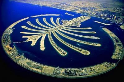 Vẻ tráng lệ của quần đảo nhân tạo khổng lồ Palm Jumeirah