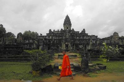 Du lịch thành phố cổ Angkor Thom Campuchia