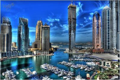 Choáng ngợp với Dubai Marina bến du thuyết lớn nhất trên thế giới