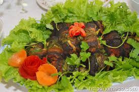 Giò Ốc cuộn thịt Lươn - Món ngon độc đáo