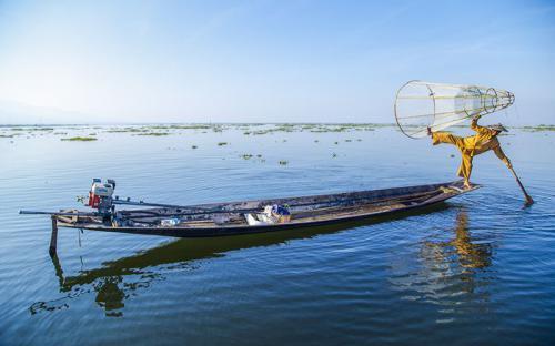 Hồ Inle, nơi ngắm hoàng hôn đẹp nhất ở Myanmar