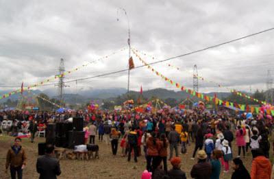 Lễ hội Lồng Tồng thị xã Bắc Cạn