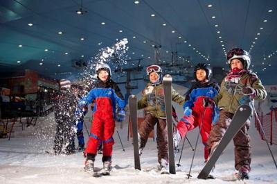 Ski Dubai – khu trượt tuyết nhân tạo khổng lồ