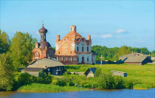 Vẻ đẹp thơ mộng của làng quê Nga bên dòng sông Volga