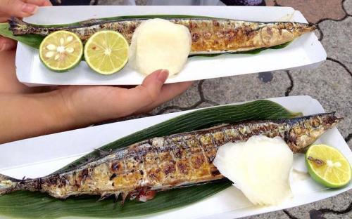 Khám phá lễ hội cá thu đao nướng tại Nhật Bản