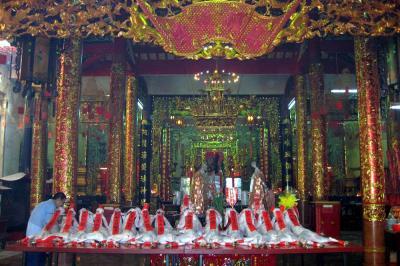 Lễ hội chùa bà Thiên Hậu ở Sài Gòn
