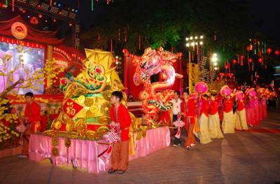 Lễ hội Chùa Ông Bổn ở Sài Gòn