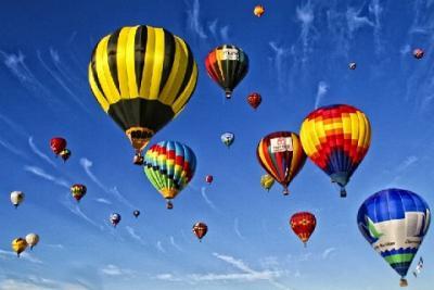 Lễ hội khinh khí cầu quốc tế ở Albuquerque nước Mỹ
